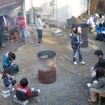 12月18日:里山の冬遊び