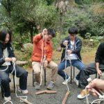 自然体験活動指導者研修会(2012.10)