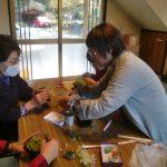 里山カルチャー教室:クリスマス飾りづくり(2014.11.27)
