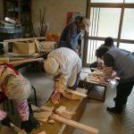 里山カルチャー教室:小さな椅子づくり(2015.2.15)